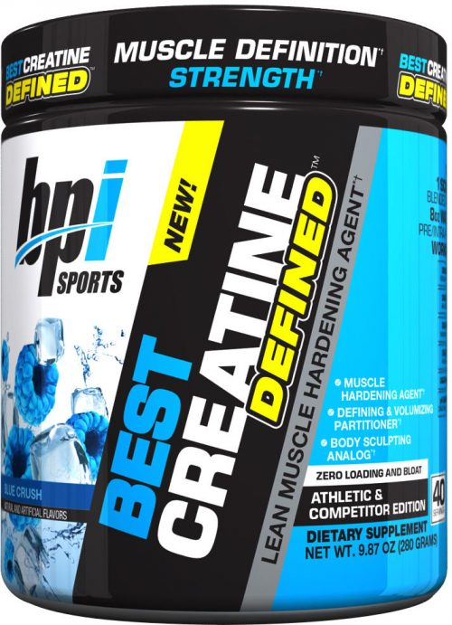 BPI Sports Best Creatine Defined - 40 Servings Blue Crush