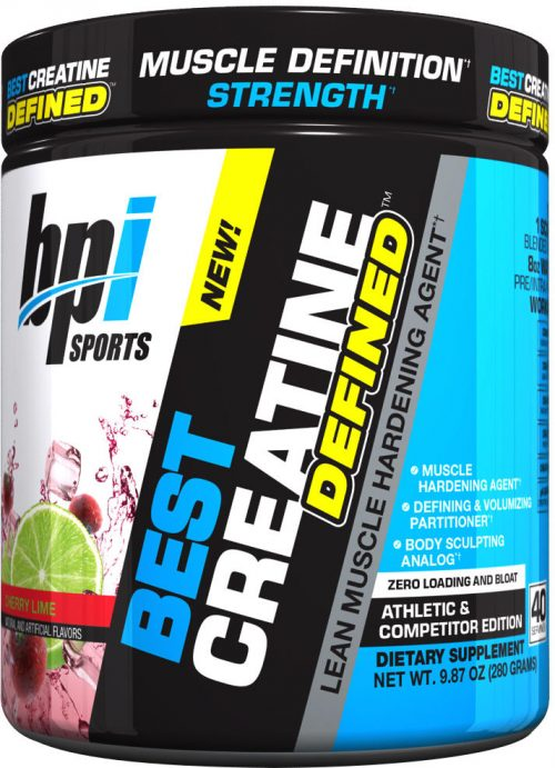 BPI Sports Best Creatine Defined - 40 Servings Cherry Lime