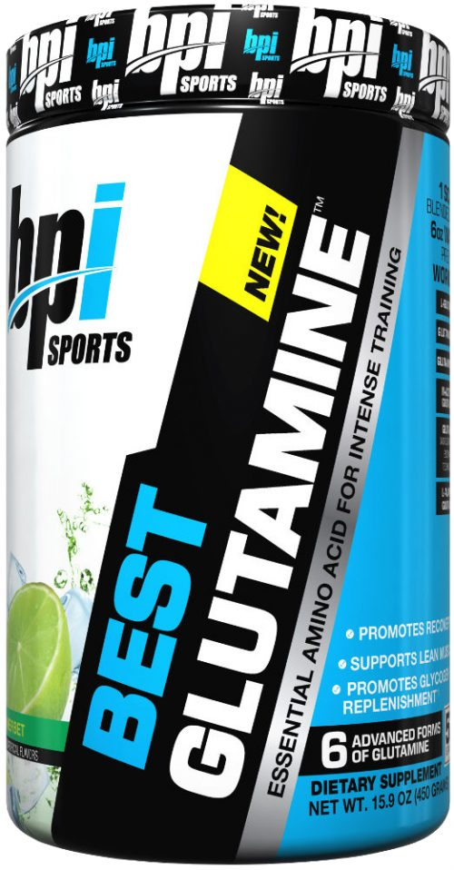 BPI Sports Best Glutamine - 400g Lime Sherbert