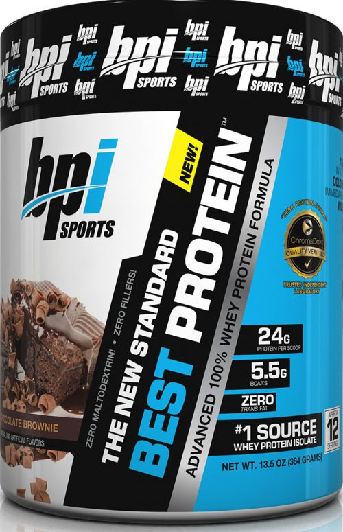 BPI Sports Best Protein - 1lb Chocolate Brownie