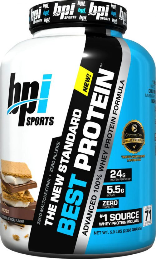 BPI Sports Best Protein - 5lbs Chocolate Brownie