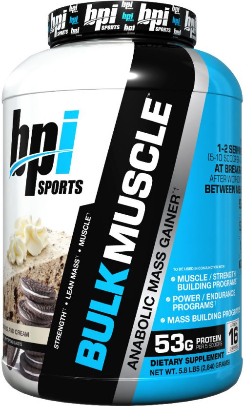 BPI Sports Bulk Muscle - 5.8lbs Cookies N' Cream