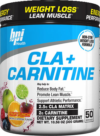BPI Sports CLA + Carnitine - 50 Servings Fruit Punch