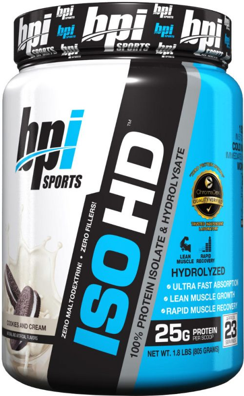 BPI Sports ISO HD - 1.6lbs Cookies & Cream