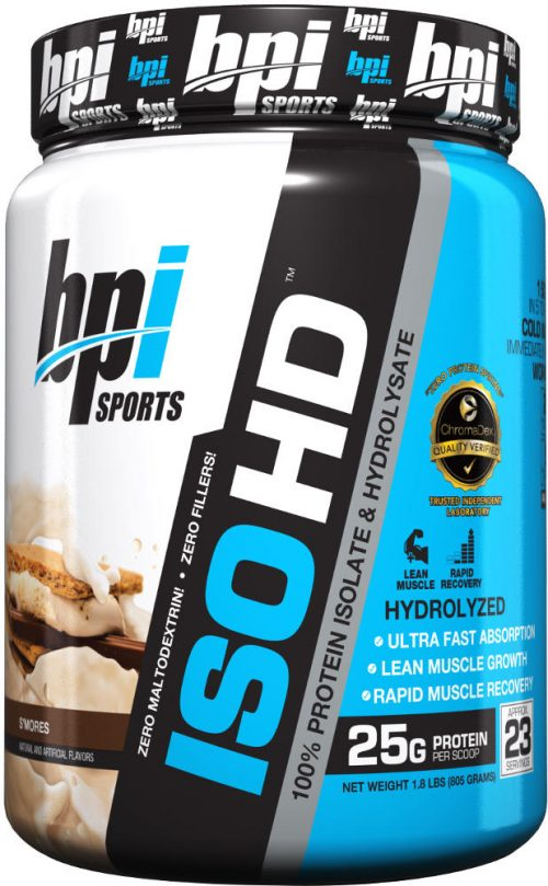 BPI Sports ISO HD - 1.6lbs S'mores