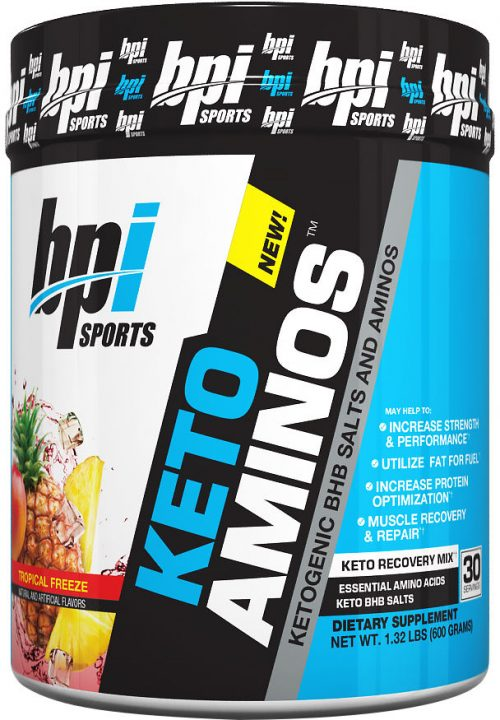 BPI Sports Keto Aminos - 30 Servings Tropical Freeze