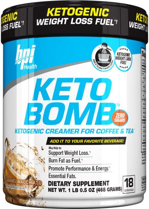 BPI Sports Keto Bomb - 18 Servings Caramel Macchiato