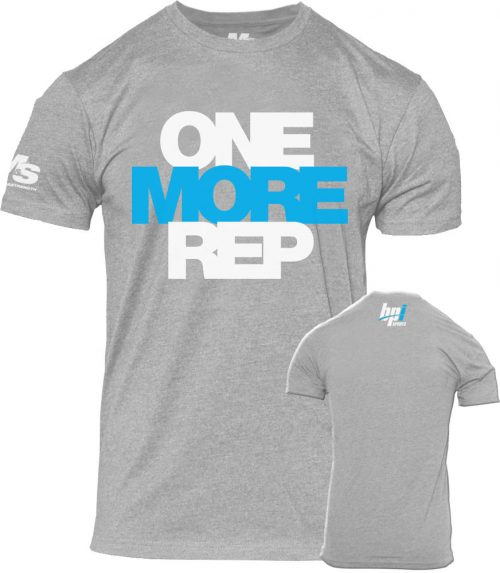 BPI Sports One More Rep T-Shirt - Grey Large