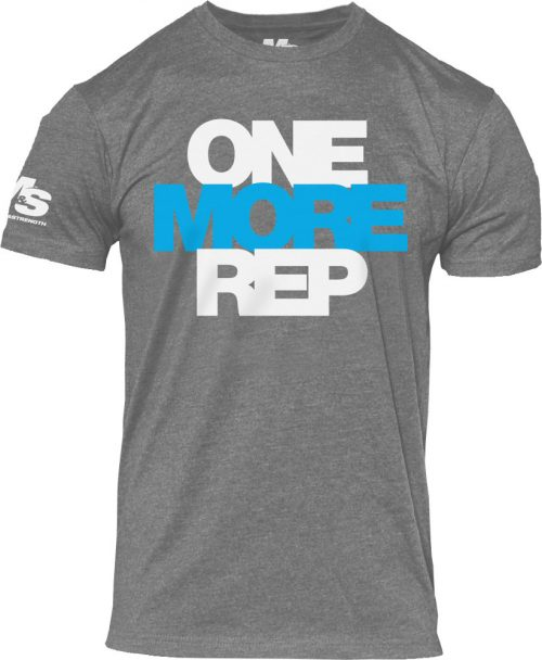 BPI Sports One More Rep T-Shirt - Grey Medium