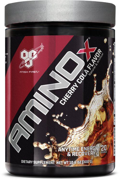 BSN AMINOx Soda Series - 20 Servings Cherry Cola