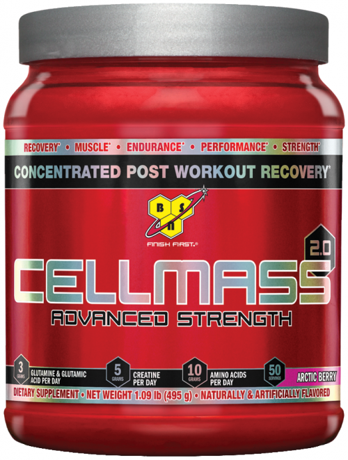 BSN Cellmass 2.0 - 50 Servings Arctic Berry