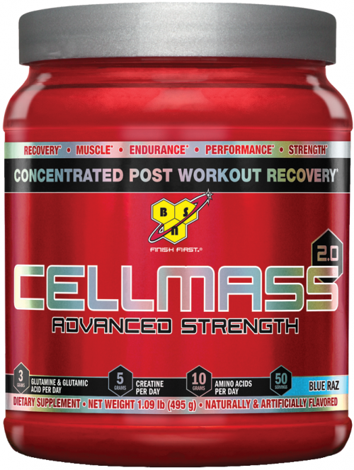 BSN Cellmass 2.0 - 50 Servings Blue Raz