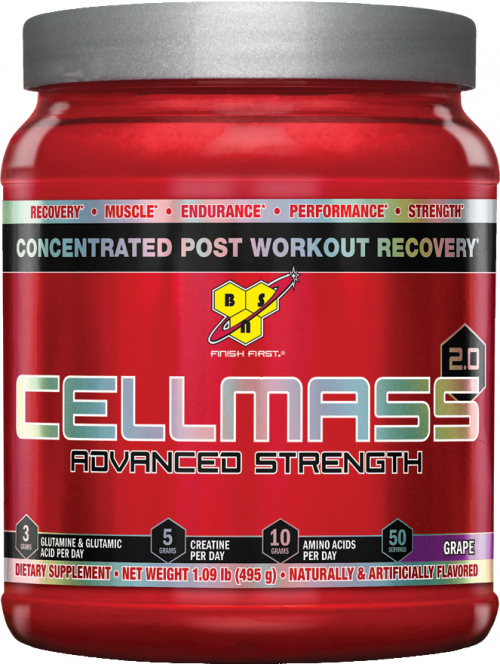 BSN Cellmass 2.0 - 50 Servings Grape