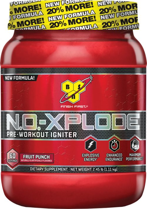 BSN NO-Xplode - 60 Servings Blue Razz