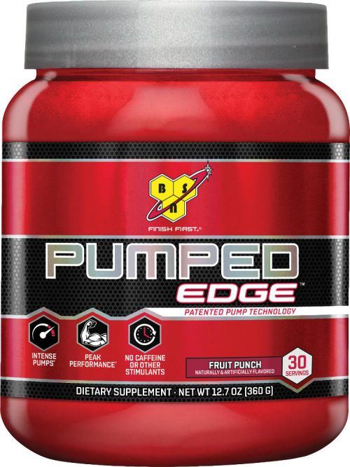 BSN Pumped Edge - 30 Servings Fruit Punch