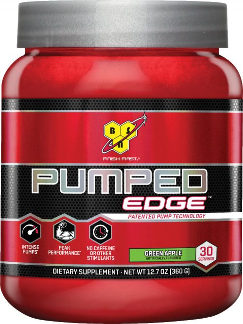 BSN Pumped Edge - 30 Servings Green Apple
