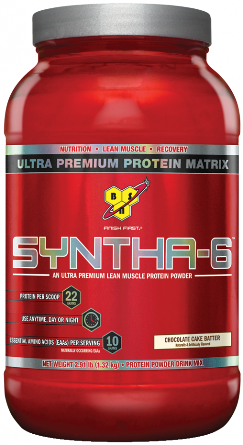 BSN Syntha-6 - 2.91lbs Chocolate Cake Batter