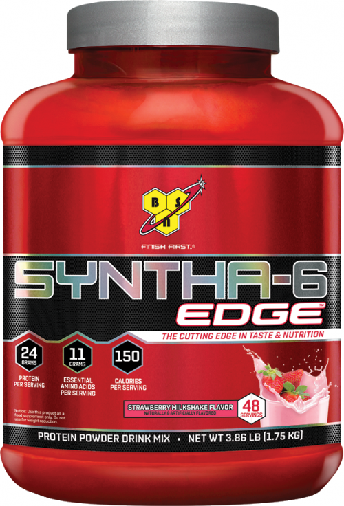 BSN Syntha-6 Edge - 48 Servings Strawberry Milkshake