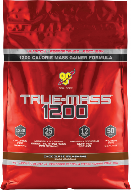 BSN True-Mass 1200 - 10.25lbs Chocolate Milkshake