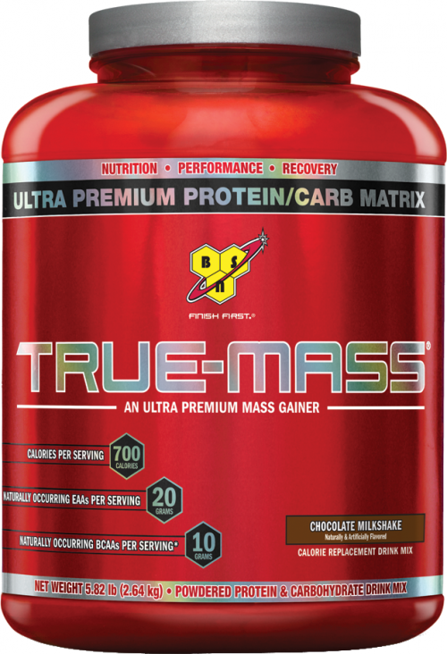 BSN True-Mass - 5.82lbs Chocolate Milk Shake