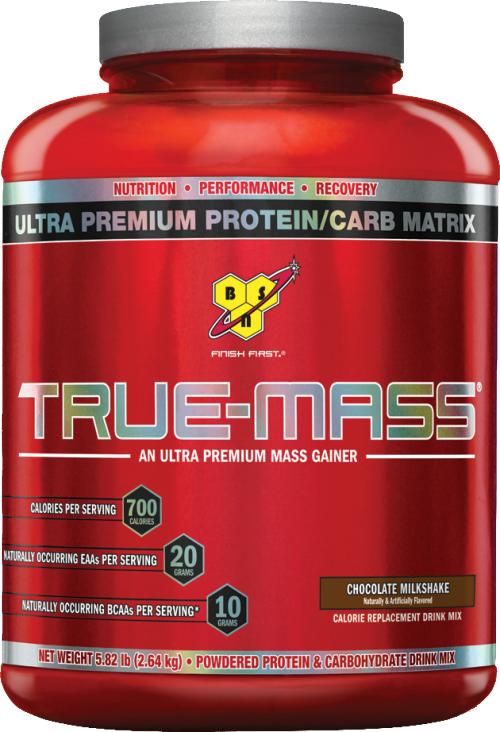 BSN True-Mass - 5.82lbs Chocolate Milk Shake