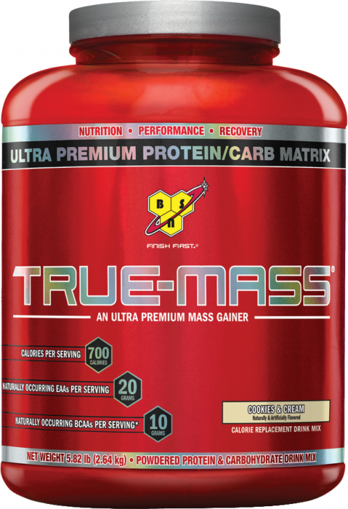 BSN True-Mass - 5.82lbs Cookies N Cream