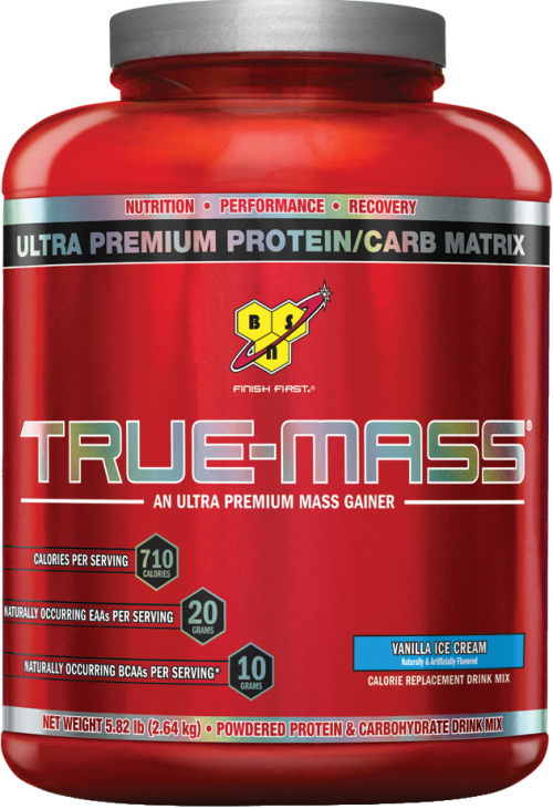 BSN True-Mass - 5.82lbs Vanilla Ice Cream