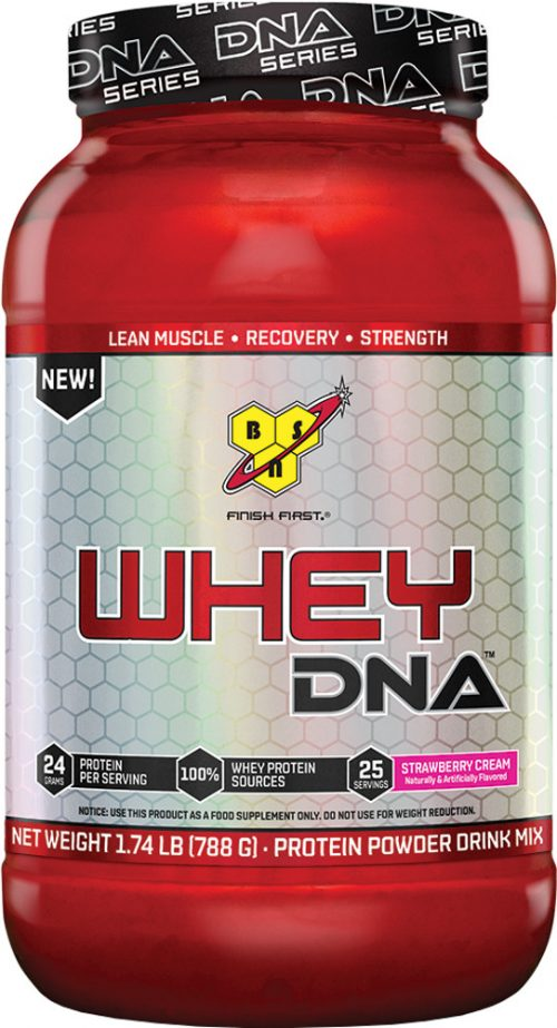 BSN Whey DNA - 25 Servings Strawberry Cream