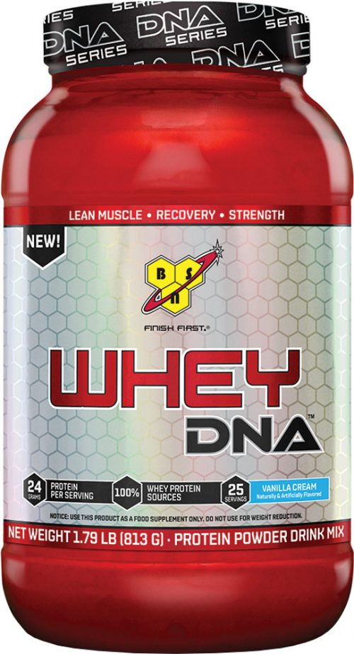 BSN Whey DNA - 25 Servings Vanilla Cream