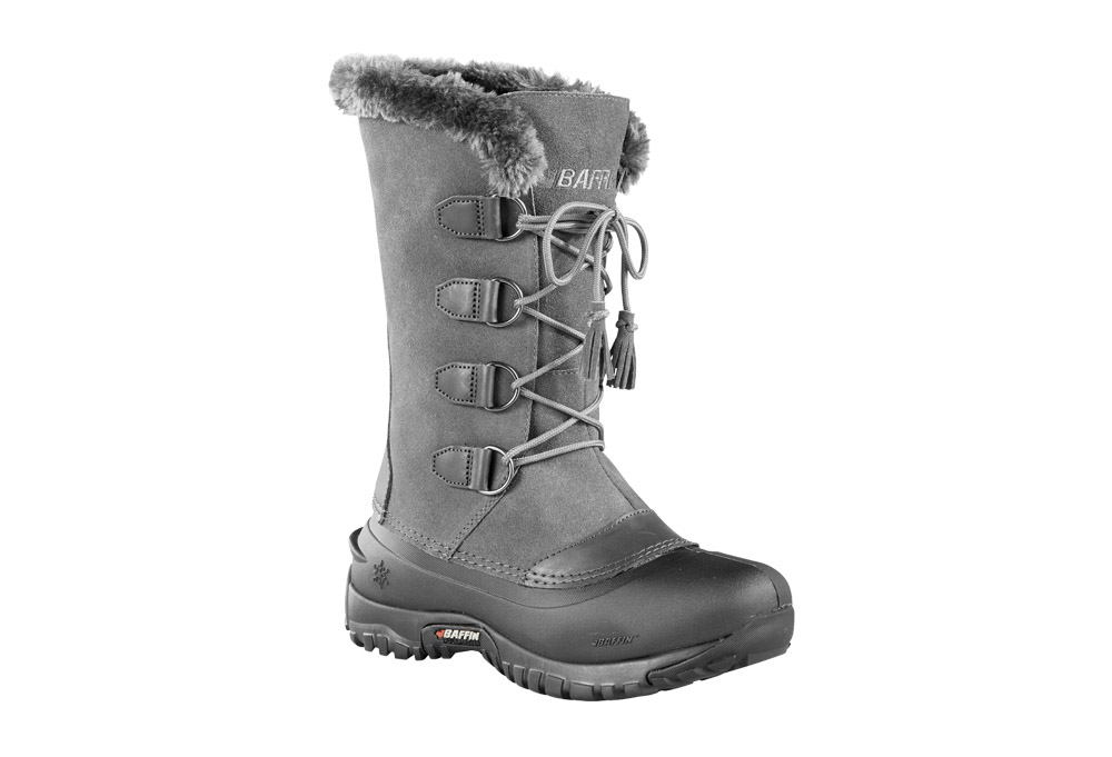 Baffin Kristi Boots - Women's - charcoal, 6