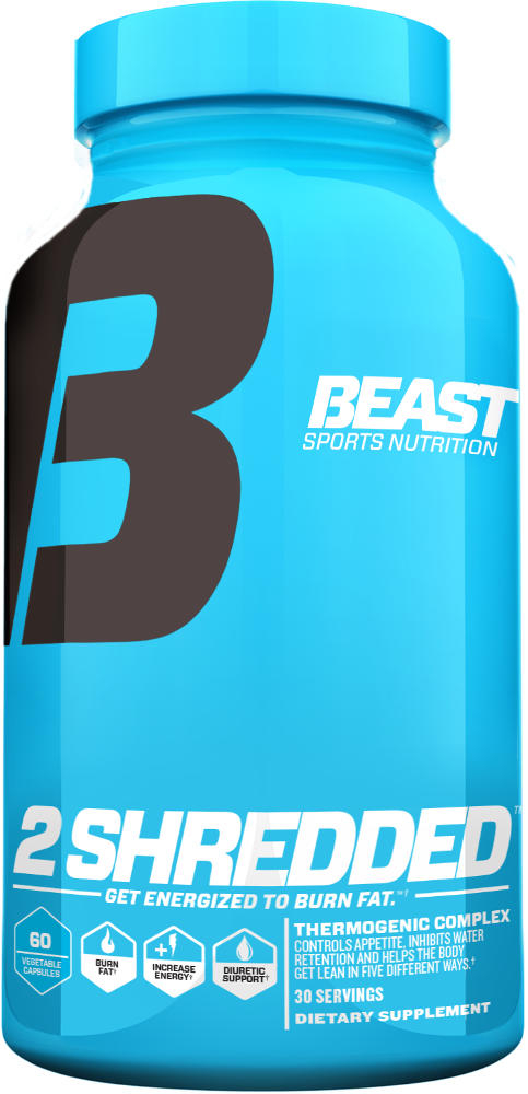 Beast Sports Nutrition 2 Shredded - 60 Caps