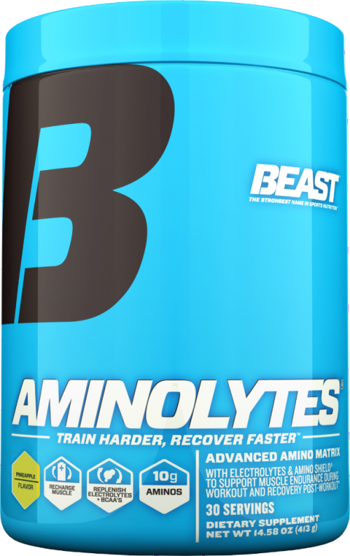 Beast Sports Nutrition Aminolytes - 30 Servings Pineapple