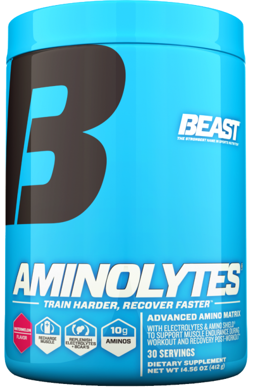 Beast Sports Nutrition Aminolytes - 30 Servings Watermelon