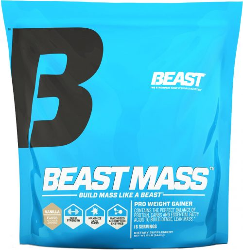 Beast Sports Nutrition Beast Mass - 12lbs Vanilla
