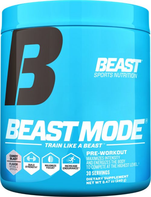 Beast Sports Nutrition Beast Mode - 30 Servings Candy Blast
