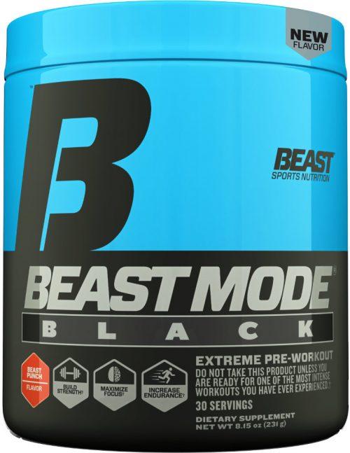 Beast Sports Nutrition Beast Mode Black - 30 Servings Beast Punch