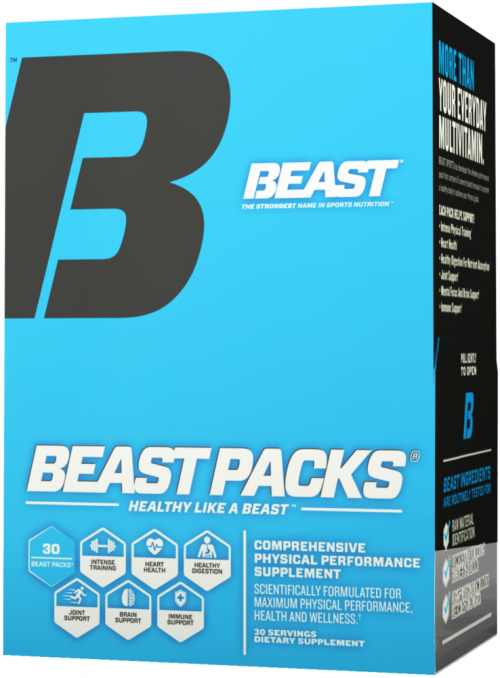 Beast Sports Nutrition Beast Packs - 30 Packs