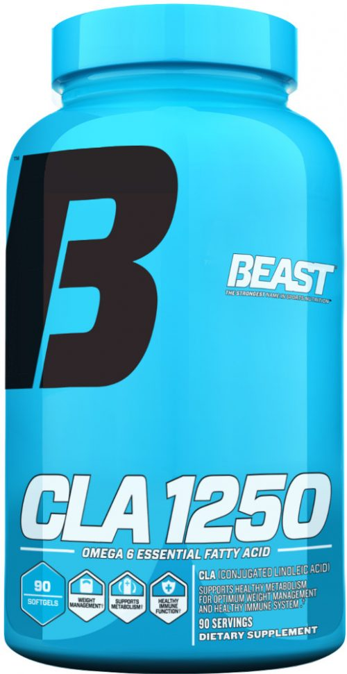 Beast Sports Nutrition CLA 1250 - 90 Softgels