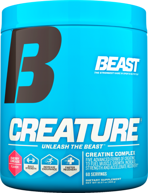 Beast Sports Nutrition Creature Powder - 60 Servings Cherry Limeade
