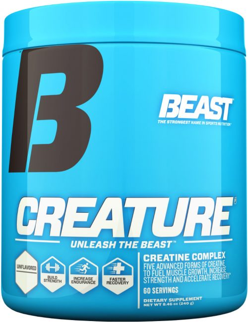 Beast Sports Nutrition Creature Powder - 60 Servings Unflavored