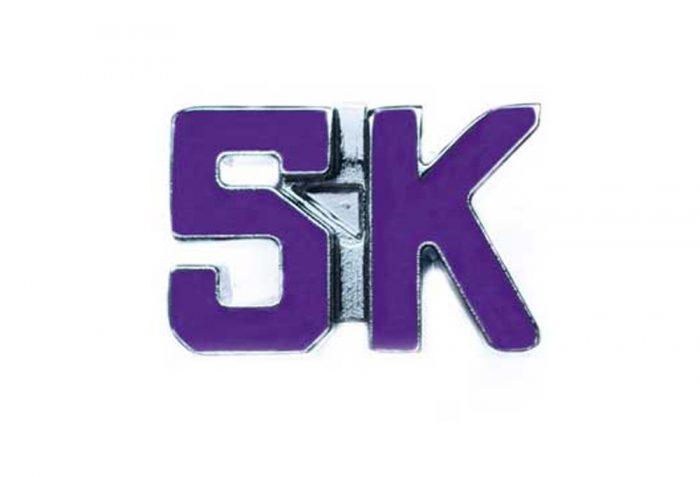 BeeCause 5k Sneaker Charm - purple, one size