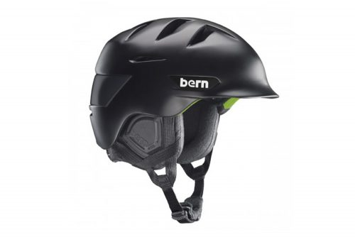 Bern Rollins Helmet - 2016 - matte black w/ black liner, s/m