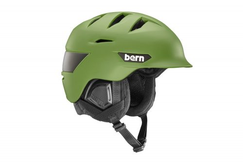 Bern Rollins Helmet - 2016 - matte fatigue green, s/m
