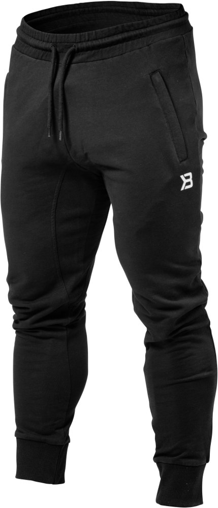 Better Bodies Tapered Joggers - Black Small