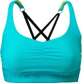 Better Bodies Women's Athlete Short Top - Aqua Large