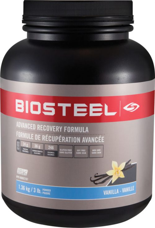 BioSteel Advanced Recovery Formula - 3lbs Vanilla
