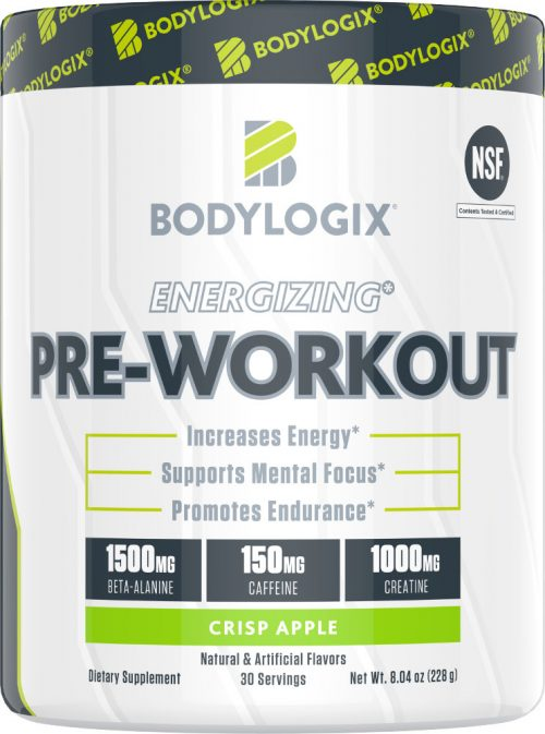 Bodylogix Energizing Pre-Workout - 30 Servings Crisp Apple