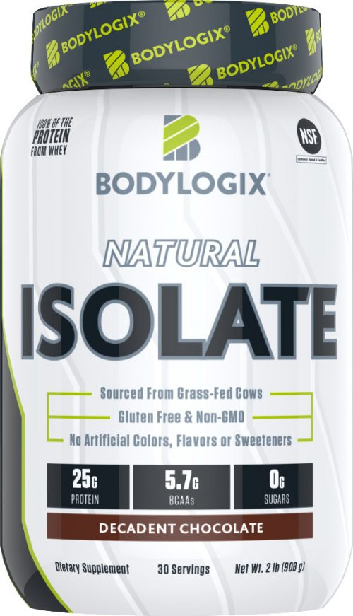 Bodylogix Natural Isolate - 2lb Decadent Chocolate