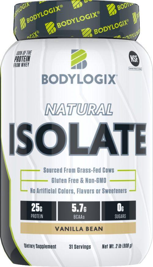 Bodylogix Natural Isolate - 2lb Vanilla Bean
