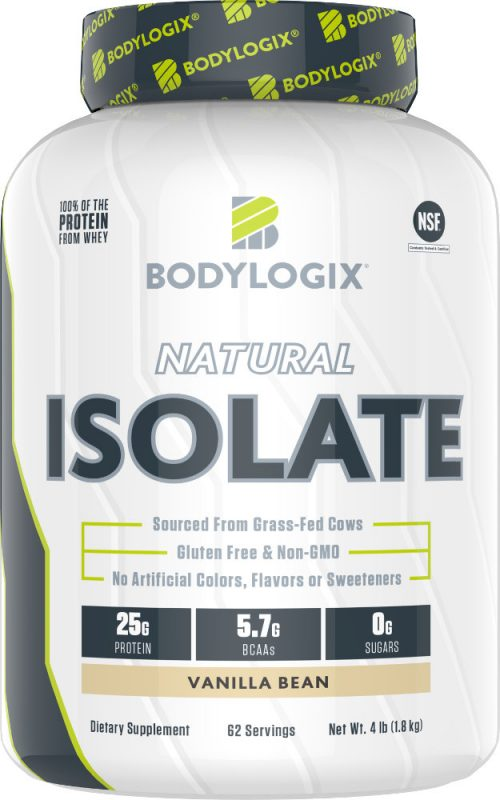 Bodylogix Natural Isolate - 4lb Vanilla Bean